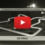 """La final """"OK"""" del Mundial de Karting CIK FIA 2016 en Barehin"""