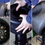El cambio de neumáticos en nuestro kart