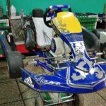 """SE VENDE chasis Praga año 2017 con motor Rotax Max 125cc """"hecho a nuevo"""""""