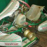 """SE VENDE chasis Tony Kart año 2018 solo usado con motores Rotax """"como nuevo"""""""